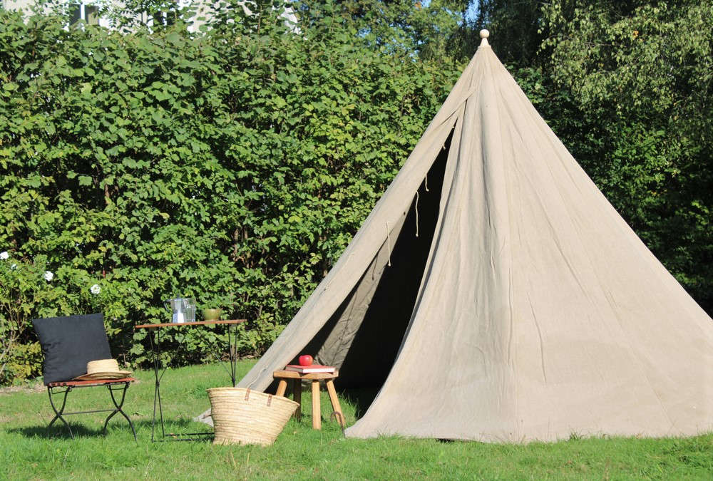 Rundzelt Kegelzelt conical tent