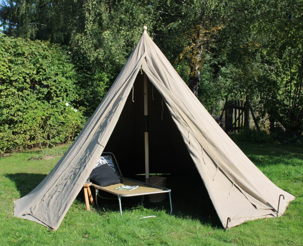 Conical tent, Rundzelt Kegelzelt
